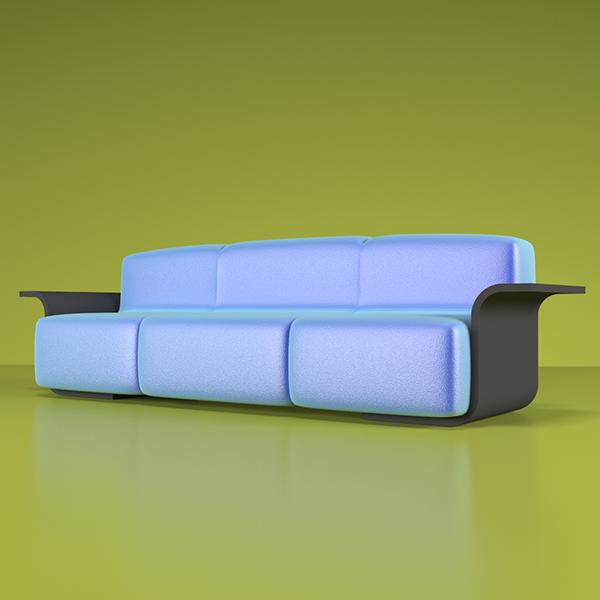 Banana-Sofa